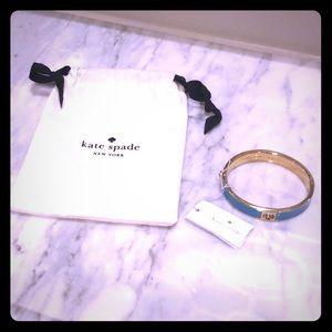 Kate Spade Turquoise Enamel Bracelet